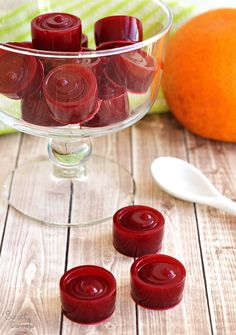 Healthy Homemade Beet and Orange Gummies – Gomitas Caseras y Saludables de Betabel y Naranja