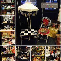 Veel vintage en brocante spullen bij Jouw Marktkraam Rotterdam Noord!