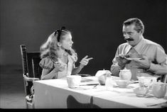 """The voice actors of many of the characters in Disney's """"Alice in Wonderland"""" (Ed Wynn, Kathryn Beaumont, Richard Haydn, Jerry Colona)... also served as live-action models for the animators back in 1951 - Imgur"""