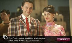 an interview with Janie Bryant-- costume designer for Mad Men.