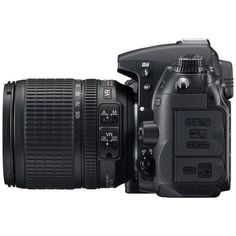 Nikon D7000 Digital Slr featuring polyvore, fillers, camera, electronics, accessories and technology