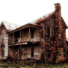 """""""Farmhouse #1"""" by Charlie Bookout - 2009 / digital photography"""