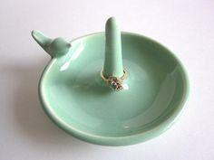 Jewelry organizer Ring Holder bowl ring dish by DarriellesClayArt, $22.00