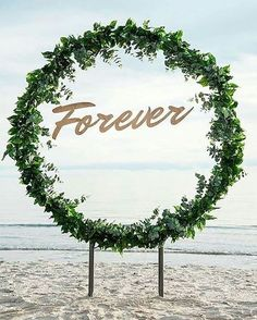 Where a floral arch once stood in the wedding world, now stands the Ceremony Wreath, or does it? Dividing the masses, which way will your ceremony decor go? Wedding Wreaths, Fall Wedding Decorations, Ceremony Decorations, Wedding Destination, Wedding Planning, Wedding Arch Rustic, Wedding Arches, Greenery Garland, Photo Booth Backdrop