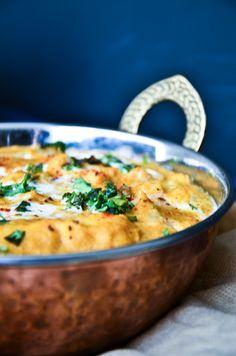 Garam Masala Tuesdays: Shahi Paneer - The Novice Housewife Shahi Paneer Recipe, Paneer Recipes, Indian Food Recipes, Gourmet Recipes, Healthy Recipes, Ethnic Recipes, Healthy Dinners, Caramel Pears, Paneer Dishes