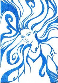 virgo free embroidery design. Machine embroidery design. www.embroideres.com