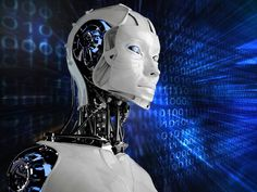 The point when robot intelligence will overtake human smarts called the singularity is near, say futurists and scientists familiar with artificial intelligence. Futuristic Art, Futuristic Technology, Science And Technology, Computer Technology, Computer Engineering, Stephen Hawking, Robot Background, Science News Articles, Computer Robot