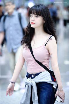 신지민닷컴 - 170901 AOA 지민 인천국제공항 & 홍콩국제공항 출입국