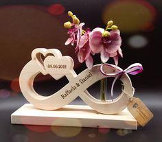Die Endlosschleife, ein Zeichen ewiger Liebe, Hochzeitsgeschenke aus Holz, Geschenkideen zur Hochzeit, Geschenke zur Hochzeit aus Holz!