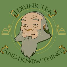 Iroh Drinks Tea – Avatar the Last Airbender Uncle Iroh is too good for this Game of Thrones reference, honestly. The Last Airbender Characters, Avatar The Last Airbender Art, Iroh Avatar, Iroh Quotes, Game Of Thrones Books, Team Avatar, Legend Of Korra, Drinking Tea, Nerd