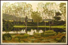 """River Birch""  by Gordon Mortensen"