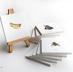 Calendar - 365 Greating Cards by Elsa Nielsen. One small piece of art every day