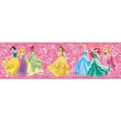 papermywalls.com - Disney True Princess Within Wallpaper Border DS7600BD, $27.99 (http://www.papermywalls.com/disney-true-princess-within-wallpaper-border-ds7600bd/)