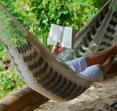 Relax in your hammock surrounded by nature