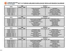 Το πρόγραμμα της νέας Euroleague! – Όλα Πράσινα