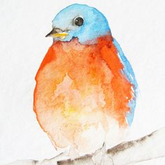 This adorable little bird makes me think of my grandmother (and Spring!)
