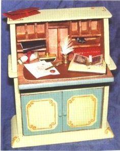 how to: bureau desk