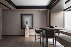 唐忠汉 | 回·流 400㎡北京金茂佑安府现代人文叠拼别墅 Luxury Interior, Interior Styling, Interior Design, Drywall Installation, Modern Luxury, Outdoor Dining, Living Spaces, Dining Room, House Design