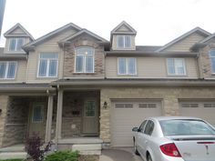 4 bedroom townhome located at 5 Katemore Dr in Guelph. Features an open concept layout; kitchen includes fridge, stove & dishwasher; walkout to patio area w/BBQ; spacious master bedroom w/ walk in closet; upstairs stackable laundry; 2.5 full bathrooms; finished basement with 4th bedroom; attached single-car garage & parking for 1 in the driveway.  Located on south end of Guelph. Available Sept 1 for $1600 plus utilities. Please contact Inspirah Rental Management at 519-515-0411 option 2.