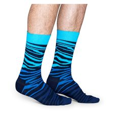 Blakshop.com - #Blakshop - #happy-socks - 87415M001.87065_BLOCK ZEBRA SOCK • 065 - 87415M001.87065_BLOCK ZEBRA SOCK • 065