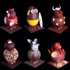 Collection Pâques 2017 Cholates Niños Chocolate Work, Easter Chocolate, Christmas Chocolate, How To Make Chocolate, Homemade Chocolate, Chocolate Lovers, Chocolate Centerpieces, Chocolate Decorations, Chocolates