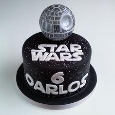 New birthday cake for boyfriend star wars Ideas Star Wars Birthday Cake, New Birthday Cake, Birthday Cupcakes, Bolo Star Wars, Star Wars Cake, Baby Shower Cupcakes, Fun Cupcakes, Birthday Cake For Boyfriend, Boyfriend Cake