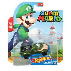 Hot Wheels Super Mario Bros Luigi Character Car | FGK33 | Hot Wheels