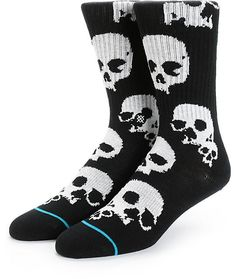 You probably need these glow in the dark Stance socks for Halloween