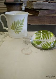 Botanical Ceramics & Paperweights