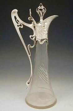 WMF Art nouveau claret jug, Germany http://www.titusomega.com/
