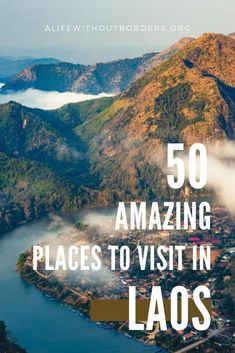 An expat's guide to the best places to visit in Laos. From Luang Prabang, Vang Vieng, and the 4000 Islands, to Vientiane, Pakse, and Champasak, you'll find all the top destinations in Laos – plus plenty more! #Laos | Laos Itinerary | Laos Travel | Where to go in Laos | Laos travel guide | Laos destinations | #LuangPrabang #Vientiane #VangVieng Luang Namtha, Luang Prabang, Laos Travel, Asia Travel, Laos Destinations, Laos Culture, Pakse, Laos Food, Vientiane