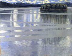 Akseli Gallen-Kallela, Lake Keitele, 1905