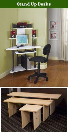 63 best desks images bureaus stand up desk desks rh pinterest com