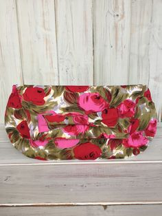 Clutch BagFloral Clutch BagHandmade by BarnabyBrownBoutique