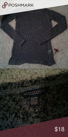 Aeropostale sweater, NEW, size xs New with stickers, size xs, very cute and comfy! Aeropostale Sweaters Crew & Scoop Necks
