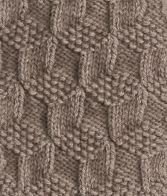 Great knitting stitch pattern