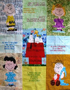 Tweety Loves Quilting: Snoopy and Friends