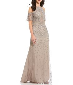 Shop for Adrianna Papell Cold Shoulder Beaded Gown at Dillards.com. Visit Dillards.com to find clothing, accessories, shoes, cosmetics & more. The Style of Your Life.