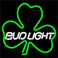 Budlight Green Clover Neon Sign 16x16, Bud Light Neon Beer Signs & Lights | Neon Beer Signs & Lights. Makes a great gift. High impact, eye catching, real glass tube neon sign. In stock. Ships in 5 days or less. Brand New Indoor Neon Sign. Neon Tube thickness is 9MM. All Neon Signs have 1 year warranty and 0% breakage guarantee.