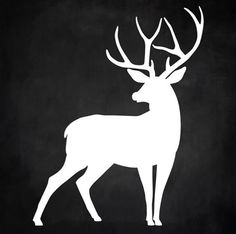 Items similar to Reindeer Buck Deer Silhouette Christmas Winter Wood Sign 12 x 12 Stencil on Etsy Hirsch Silhouette, Deer Head Silhouette, Animal Silhouette, Silhouette Art, Reindeer Silhouette, Deer Stencil, Stencil Art, Wood Painting Art, Wood Art