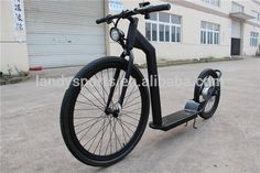 Source electric kickbike dog scooter foot scooter kick bike for adult (LDH-14R) on m.alibaba.com