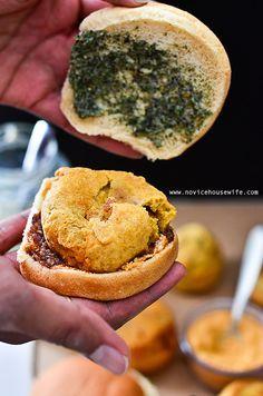 Vada Pav: Indian street food vegetarian sliders