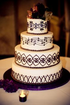 music themed wedding cake 1000 ideas about wedding cakes on 17667