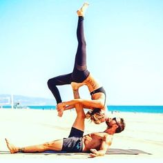 Pin for Later: Yoga + Kissing = Your Day Made