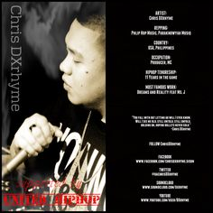 Chris DXRhyme Underground Hiphop, Usa Country, Letting Go, Hip Hop, Artists, Let It Be, Music, Musica, Musik