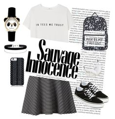 """hang out"" by shintawidyarini on Polyvore featuring Oris, MANGO, Apt. 9, Vans, Miss Selfridge, Savannah Hayes and Frends"