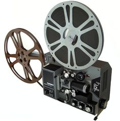 Movie Projector - getting to watch movies in school was always a treat.  Remember that clicky clacky sound the machine made?