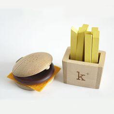 Kukkia - Kiko+ hamburger and fries instrument set - Scout & Co