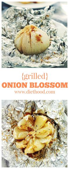 Grilled Blooming Onion | www.diethood.com | Your favorite steakhouse appetizer, healthified! |