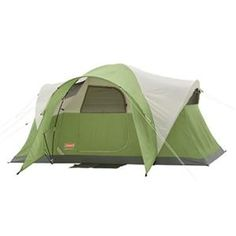 A great choice for family car campers scout leaders and extended camping excursions the Coleman Montana 6 Tent is designed for easy setup. The Montana 6 sleeps 6 people comfortably with a f. Best Tents For Camping, Tent Camping, Camping Hacks, Camping Gear, Camping Storage, Camping Equipment, Lake Camping, Florida Camping, Backpack Camping